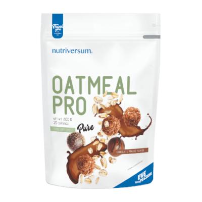 Oatmeal PRO csoki-praliné ízben 600 g - PURE - Nutriversum