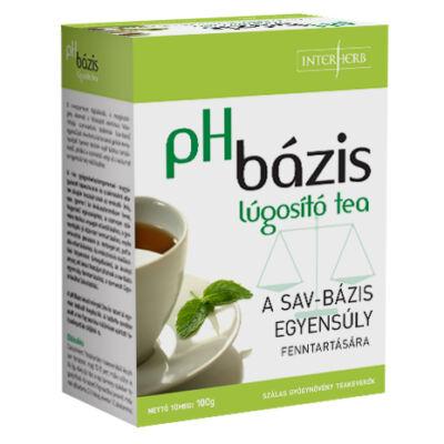 pH bázis lúgosító teakeverék 100g Interherb