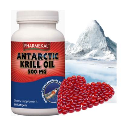 Antarctic KRILL olaj 500 mg 60 db Pharmekal