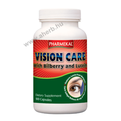 VISION CARE fekete áfonya + lutein kapszula 100dbPharmekal