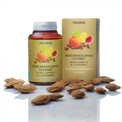 Prunus sárgabarckmag kapszula 90 db