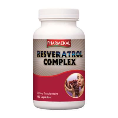 Resveratrol (vörösborkivonat) komplex kapszula 120db  Pharmekal