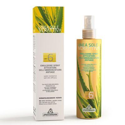 VERATTIVA® Öregedésgátló Gyorsbarnító Spray 200ml Specchiasol