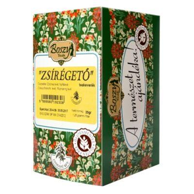 ZSÍRÉGETŐ teakeverék 20 filter Gyógyfű